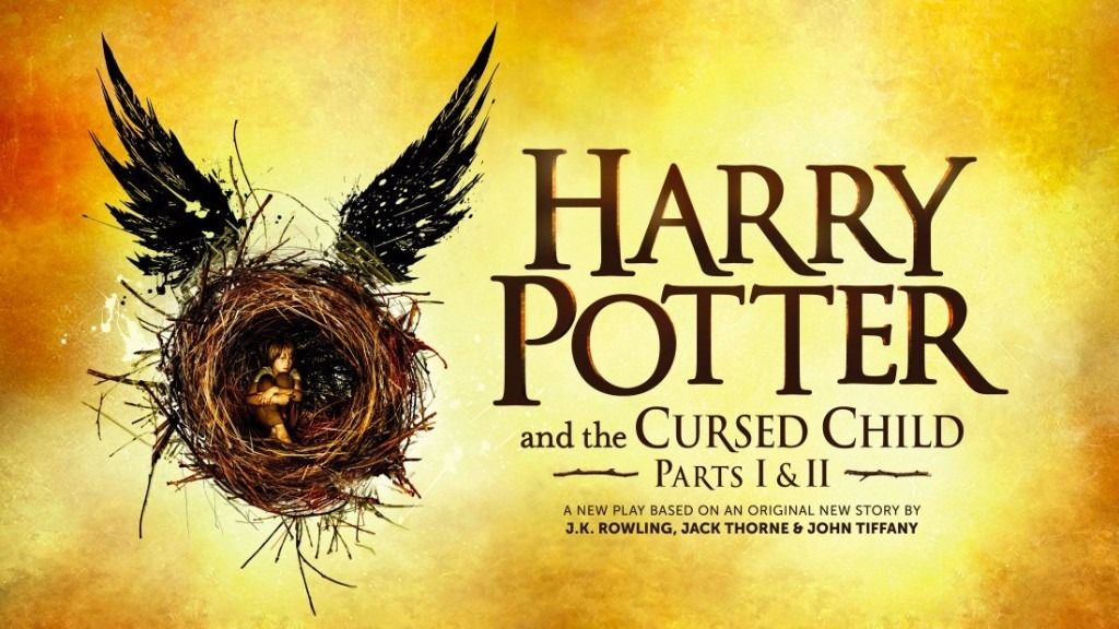 Harry Potter and The Cursed Child Tickets - 2 Adult Tickets for 2 Parts Same Day - 17/08/2016
