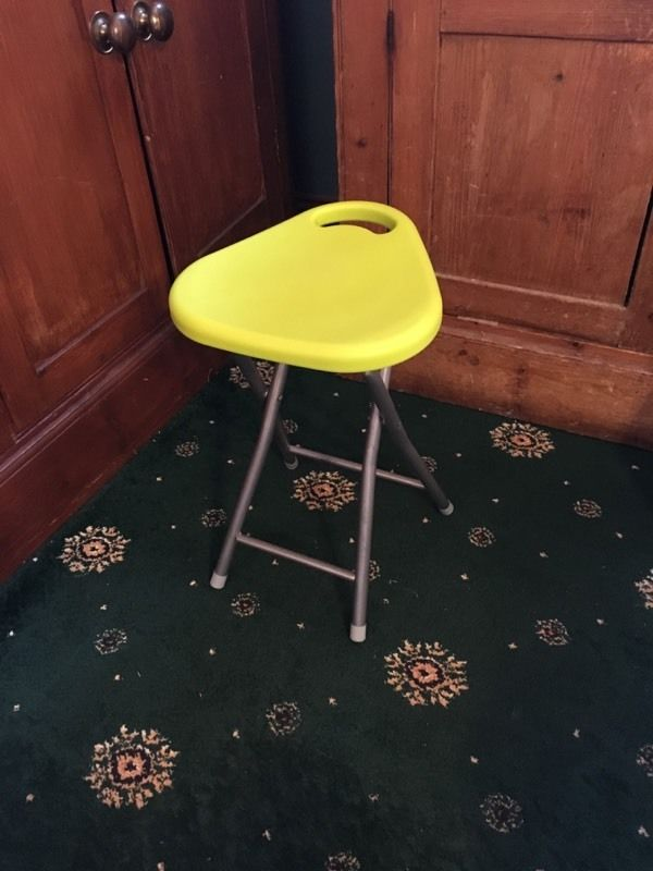 Salon Hairdressing Beauty Therapy Foldable Stool