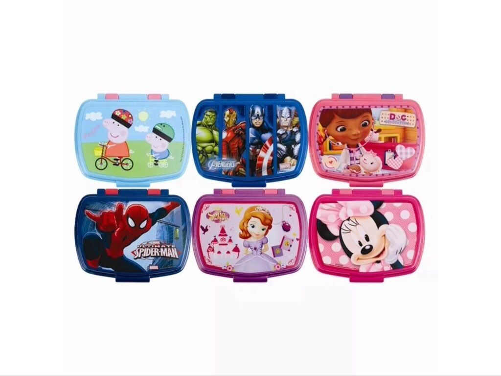 Children's character Lunchboxes