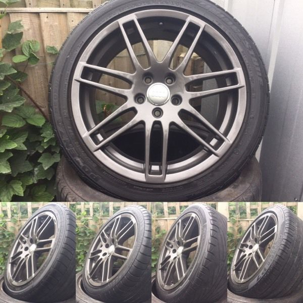 "18"" Skoda alloy wheels"