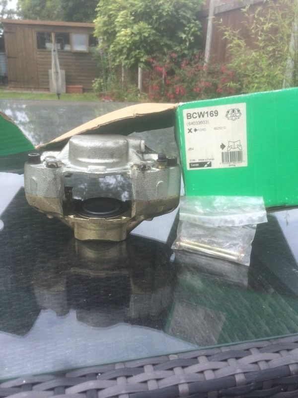 Ford Capri ,escort,Granada brake calliper m16