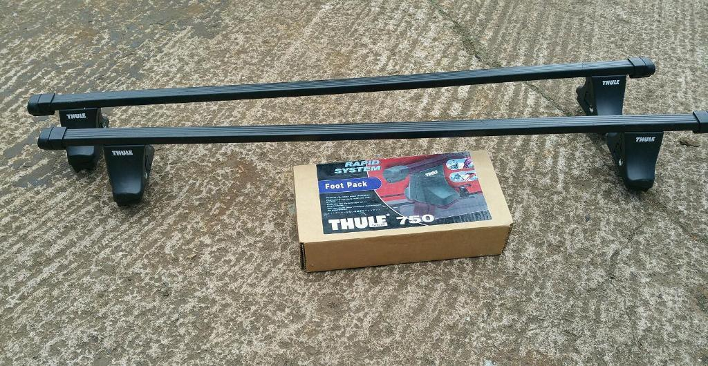 VW Golf thule roof bars