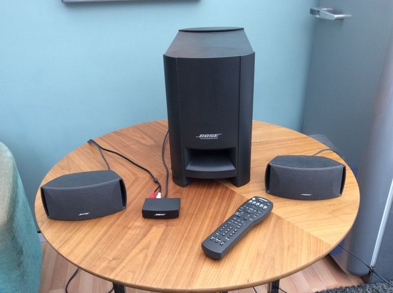 Bose cinemate digital home theatre system 300W collection stone staffs