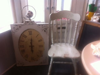 Large decorative clock - suitable for cafe