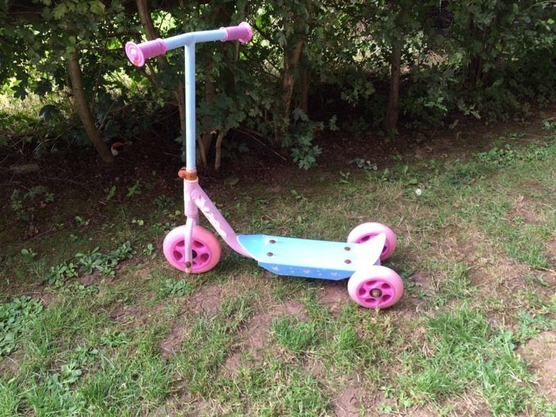 Pink scooters
