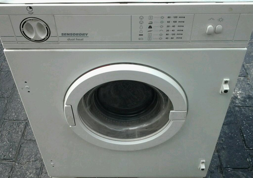 Tumble dryer integral in good working order.