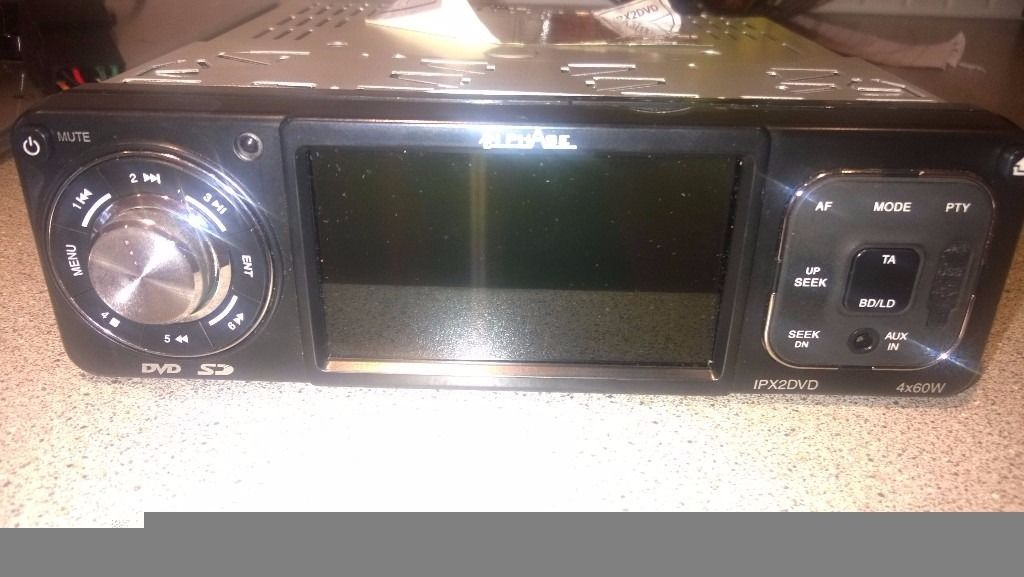 InPhase car stereo/dvd player