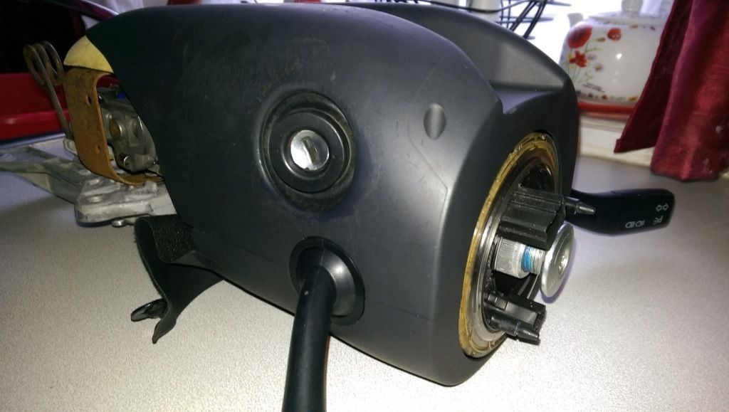 complete Audi a4 b6 steering column unit with indicators and more