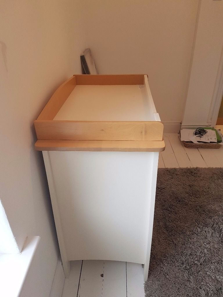 Startrite wooden changing table