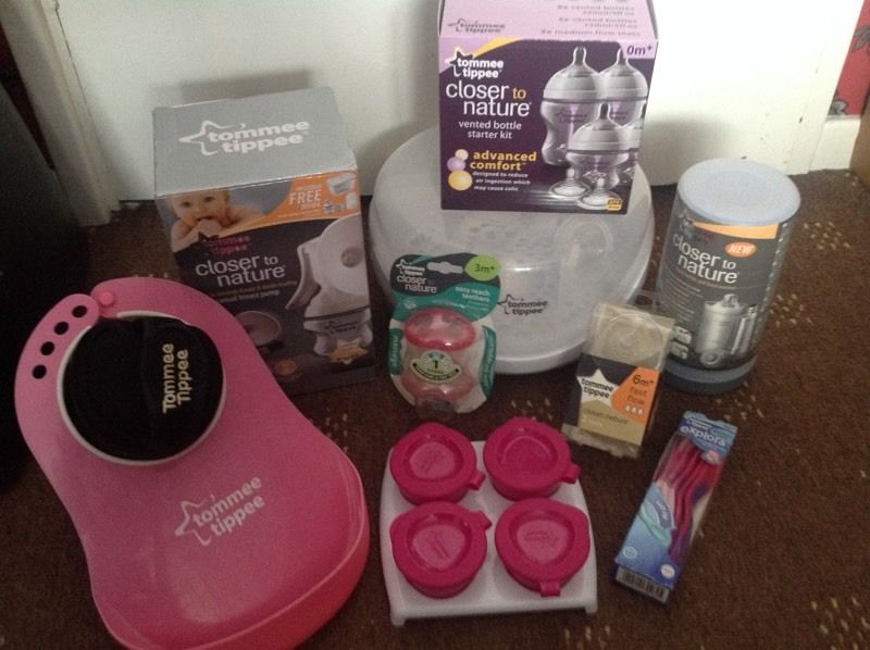set tomme tippee