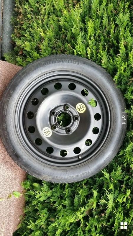 BMW 3 Series 5 Series Space Saver Spare Wheel 17""