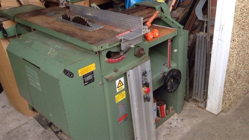 Saw bench plainer and spindle mould we
