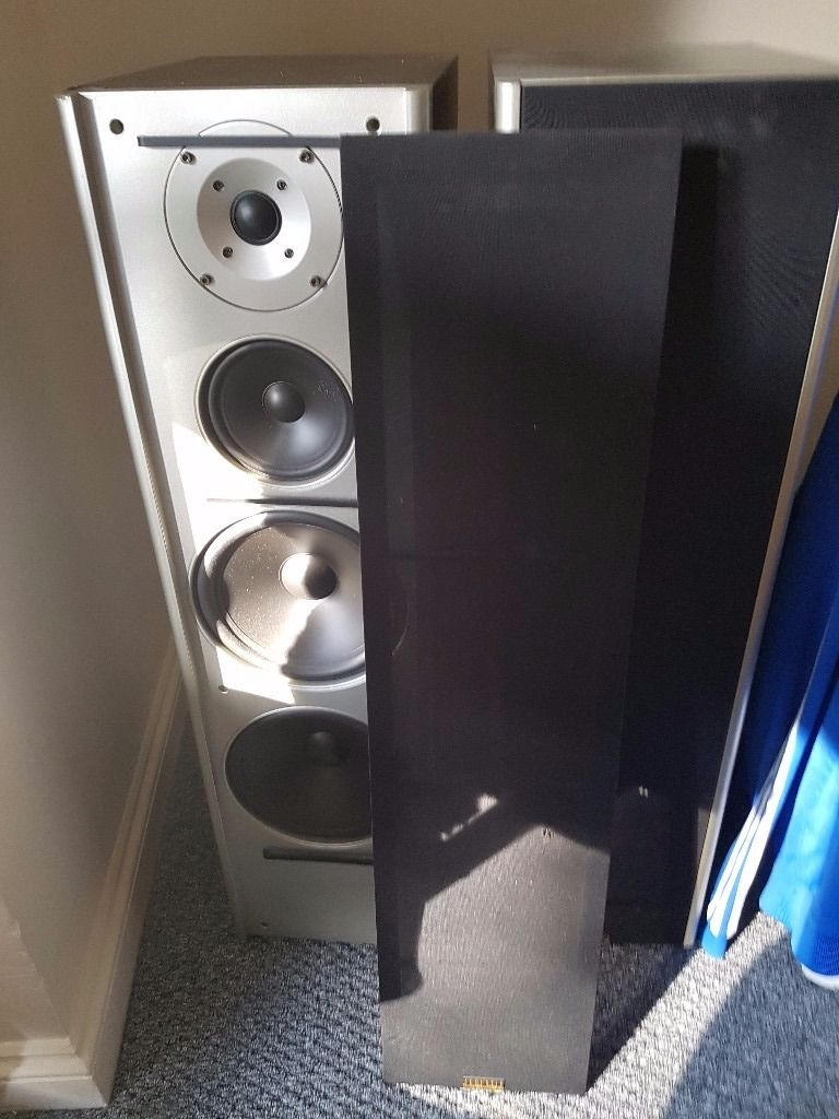 Acoustic stereo speakers