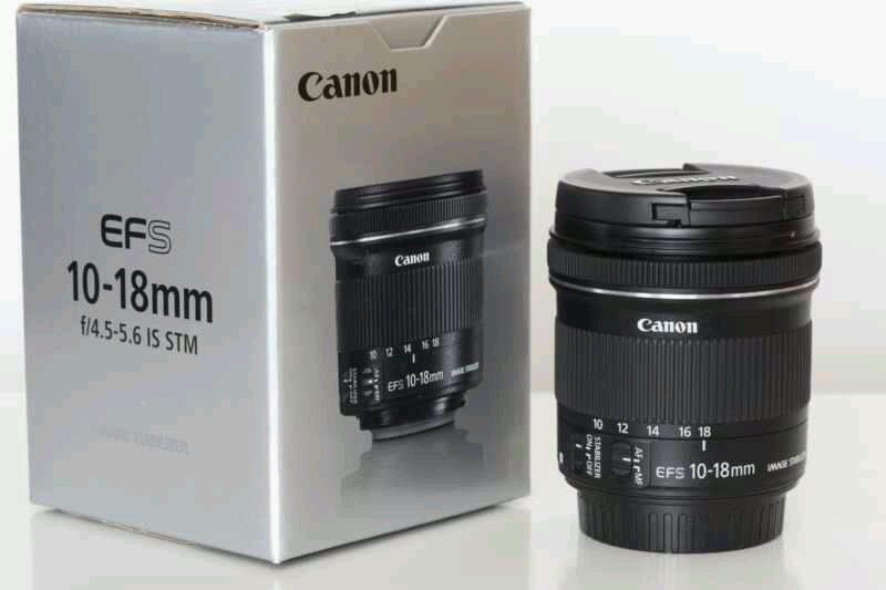 Canon EF-S 10-18mm Ultra Wide Angle Lens