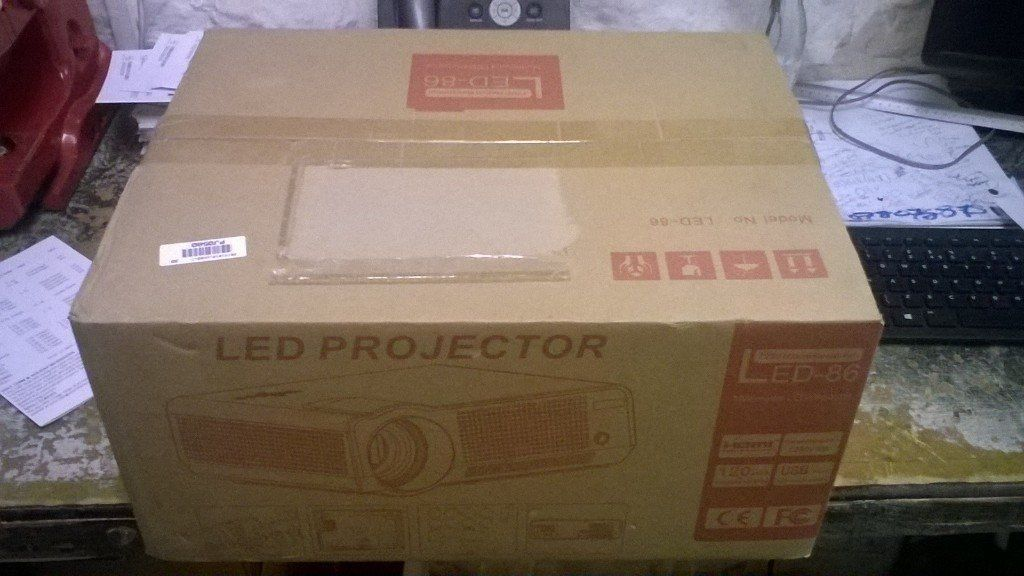 Led USB Projector brand new unused