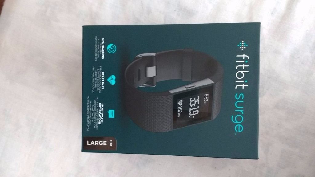 NEW! Fitbit Surge Ultimate Fitness Super Watch!! SEALED!!!