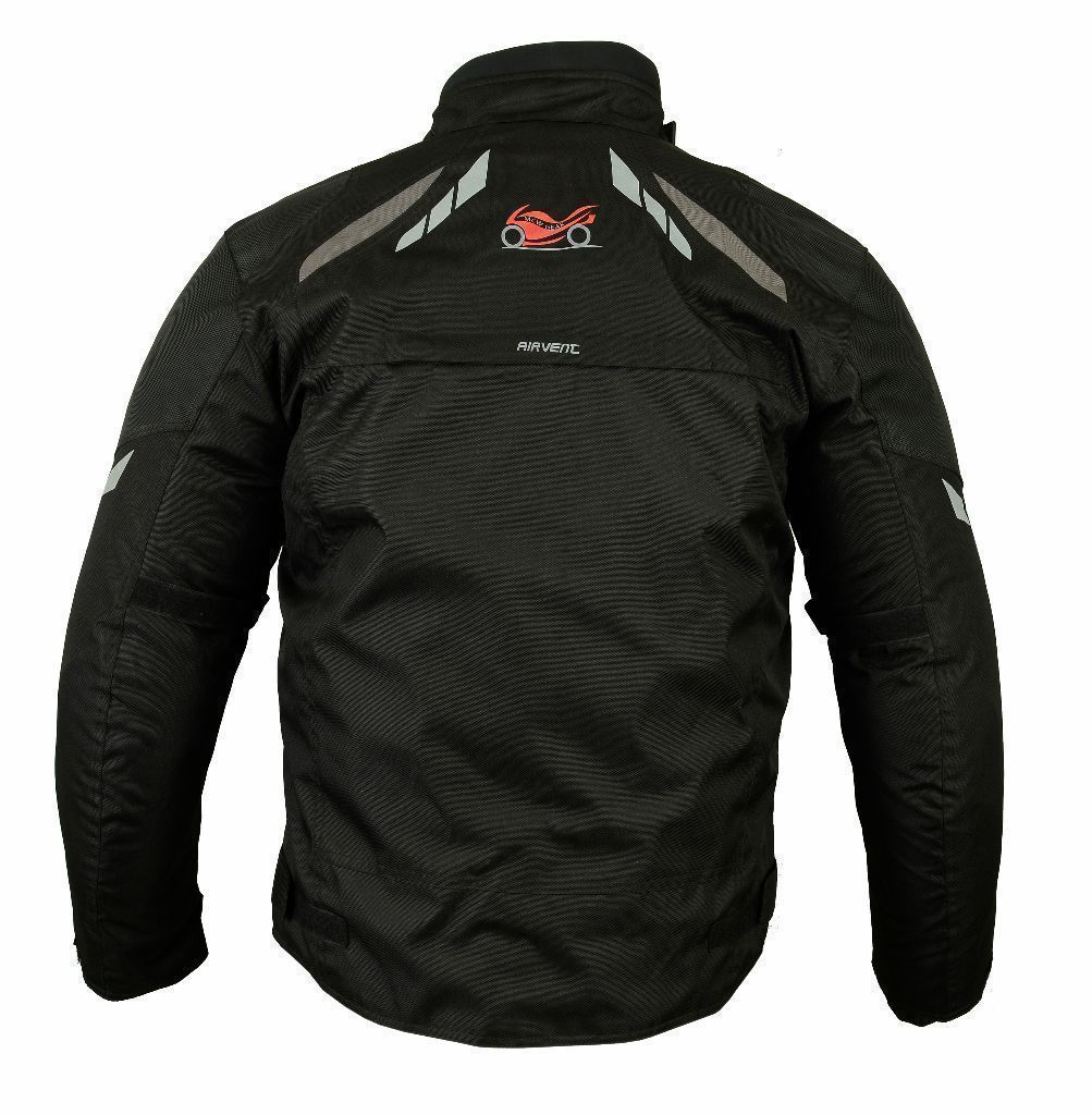 MCW Gear Racer Motorcycle Motorbike Textile Armour Jacket