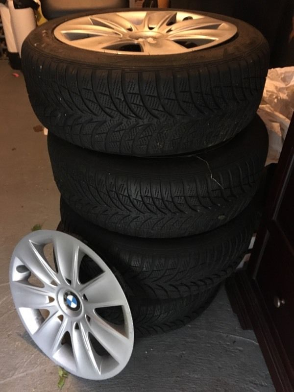 Winter tyres bmw 1 series