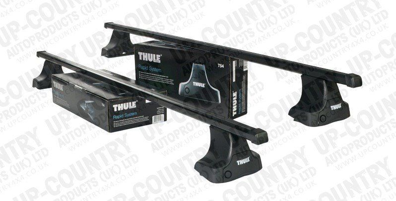 Thule Rapid Fit Roof Bars for Nissan Navara D/C 05 -16