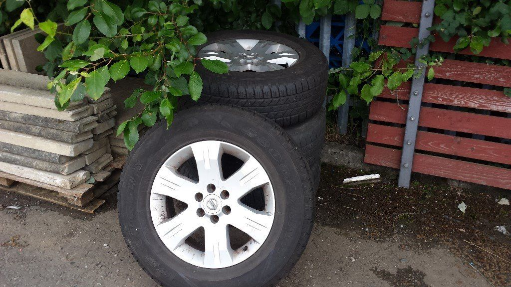 Alloy Wheels for Nissan Navara