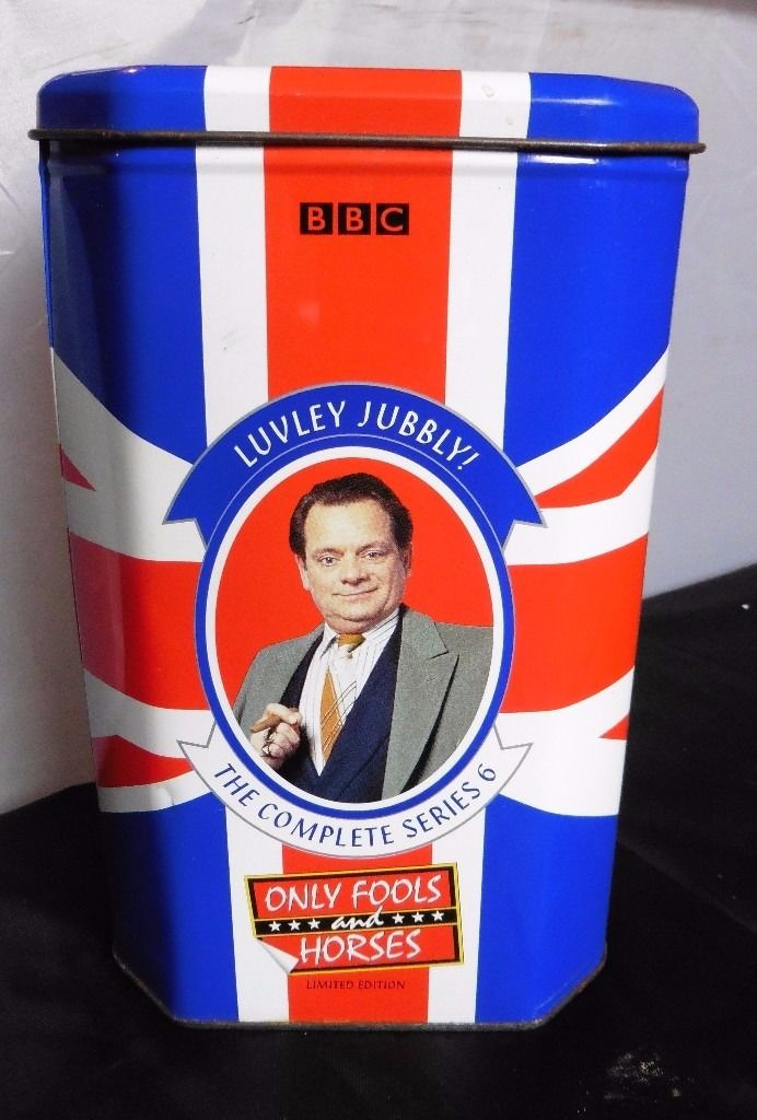Only fools and horses series 6 - VHS in special collectors tin