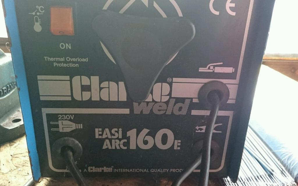 Mig and arc welder for swaps