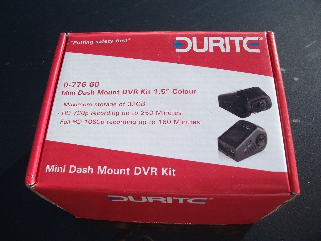 Durite Mini Dash-Cam (0-776-60)