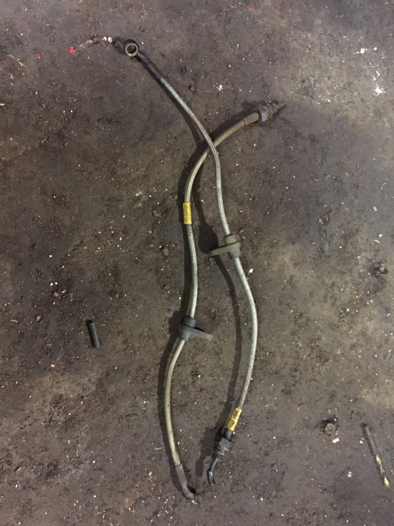 honda civic ek4 vti eg5 esi eg6 goodridge stainless steel rear brake lines