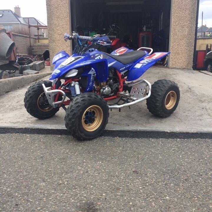 Yamaha YFZ 450 Racing Quad (YZF YZ CRF CR KXF KX 125 250)
