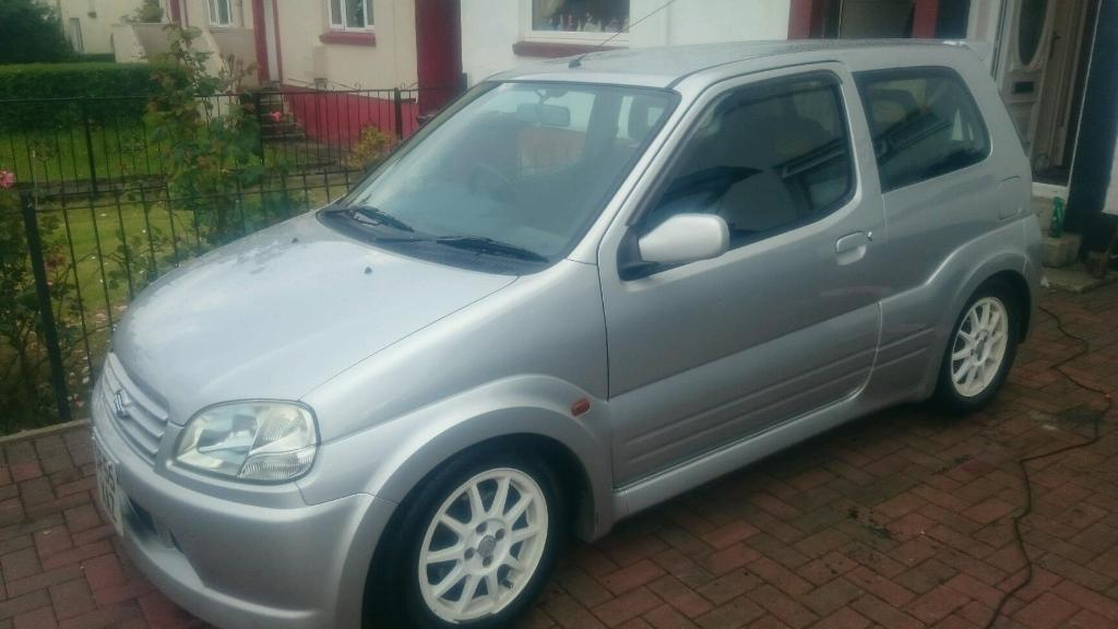 Suzuki ignis sport with full years mot