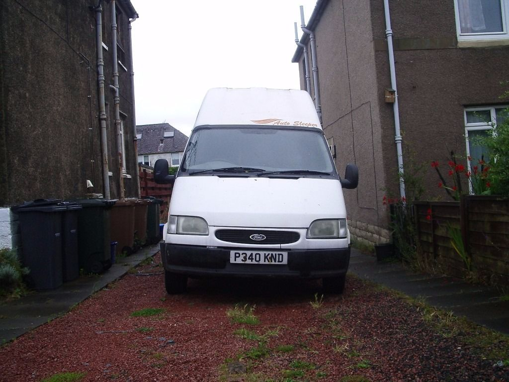 Ford Transit Diesel Motorhome Excellent opportunity for the Festival