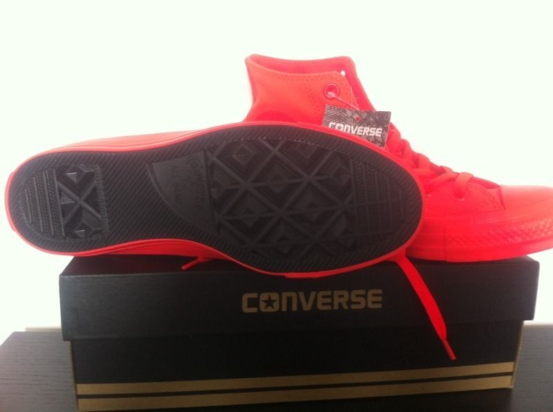 Converse All Star HiTops -Red