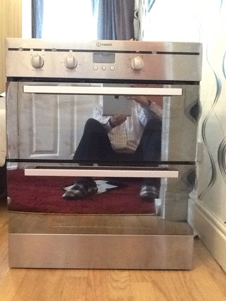 Indisit double oven new