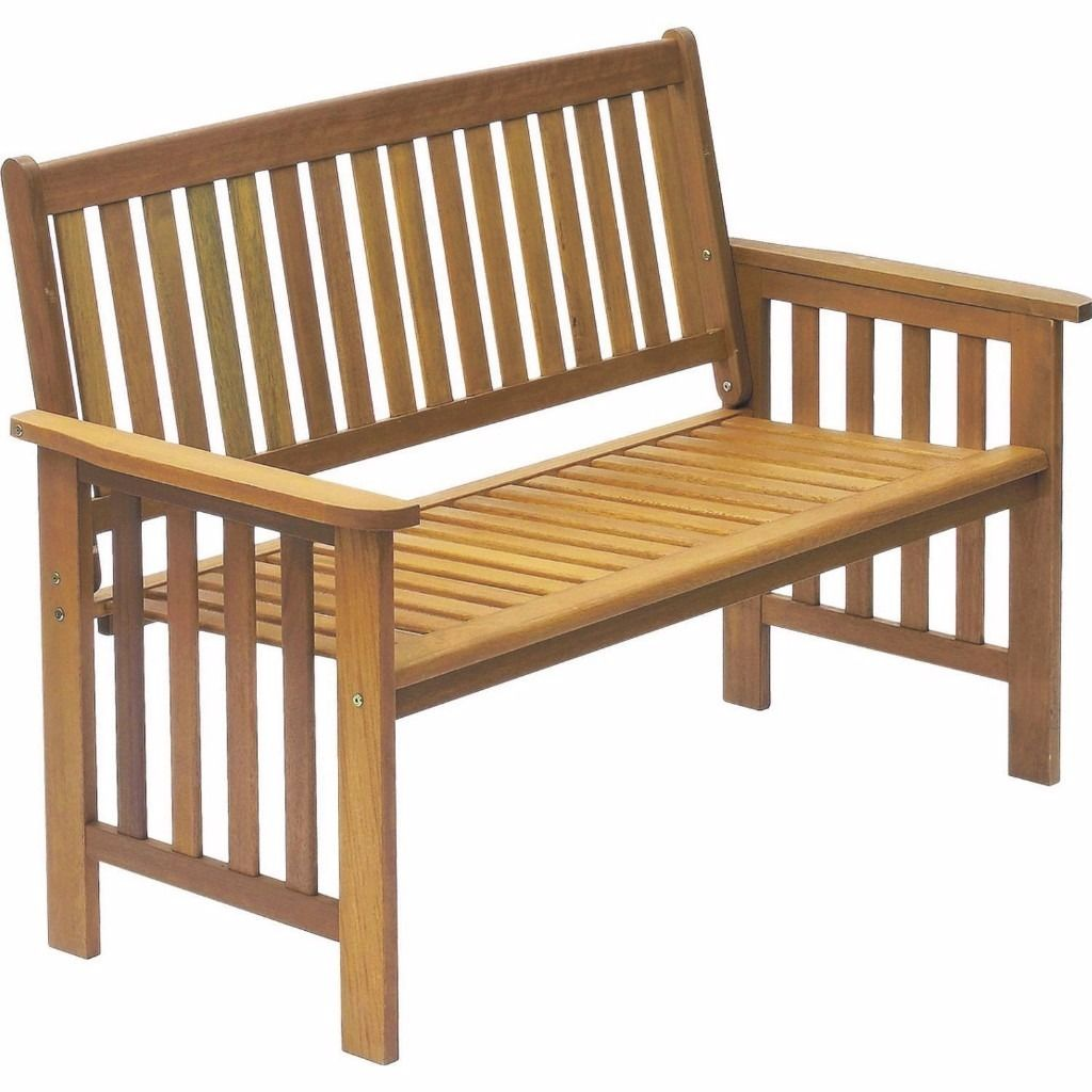CARMILLION 2 SEATER BENCH (UNASSEMBLED IN ORIGINAL PACKAGING)