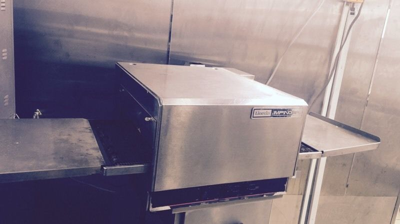 Covert Pizza oven 1200