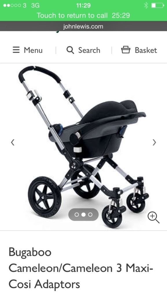 Brand New Bugaboo Adapters
