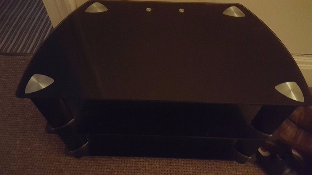 New TV Stand black
