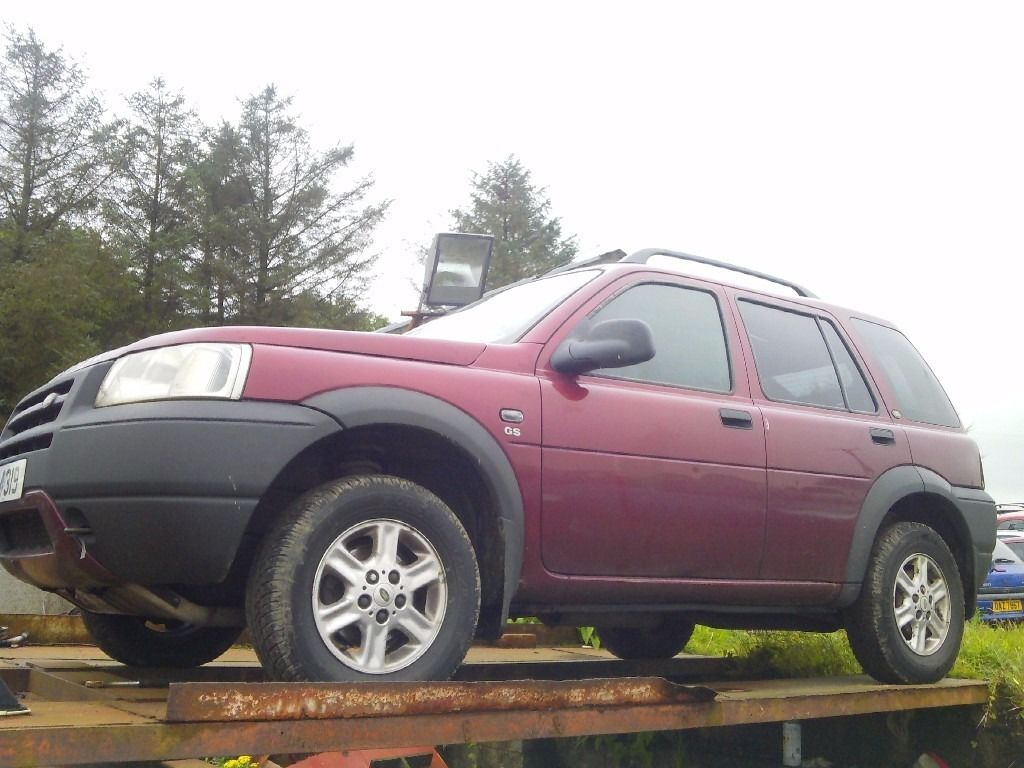 LANDROVER FREELANDER TD4 ENGINE/GEARBOX/TURBO/PARTS/ALLOY WHEELS