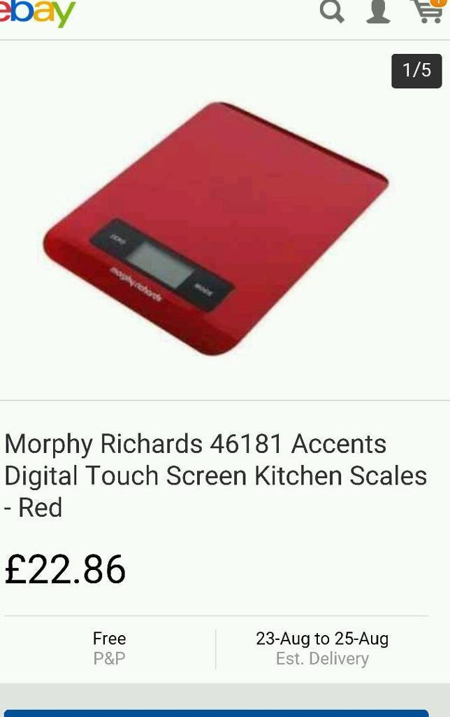 Morphy richards scales