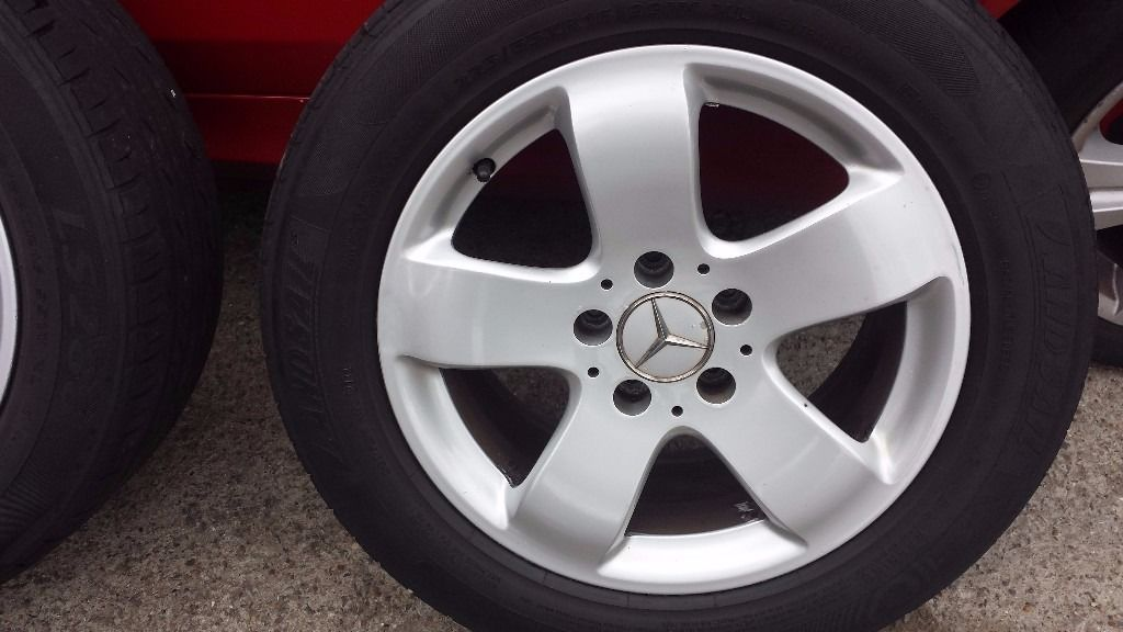 Mercedes e class Alloy wheels