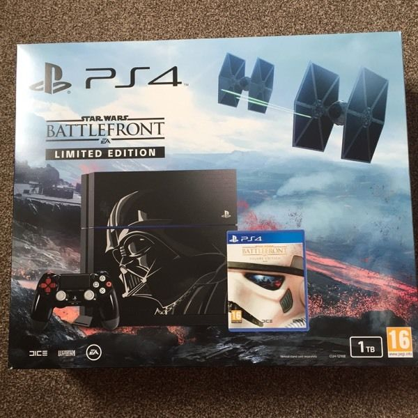Star Wars limited edition PS4