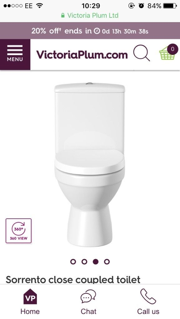 BRAND NEW close coupled toilet and soft close lid *OFFERS*