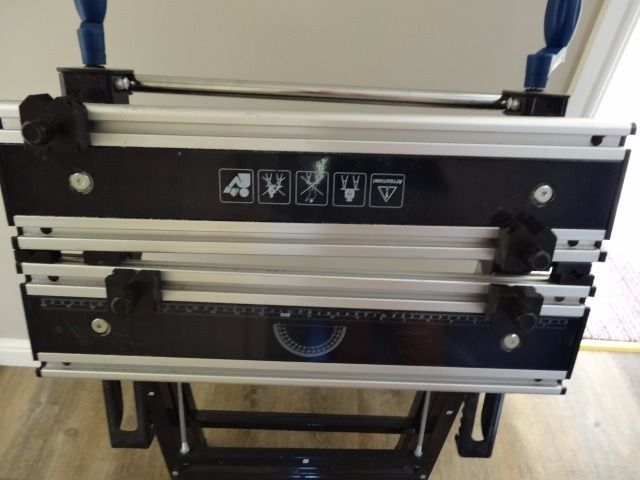 Mac Allister Foldable Vice Clamp Workbench