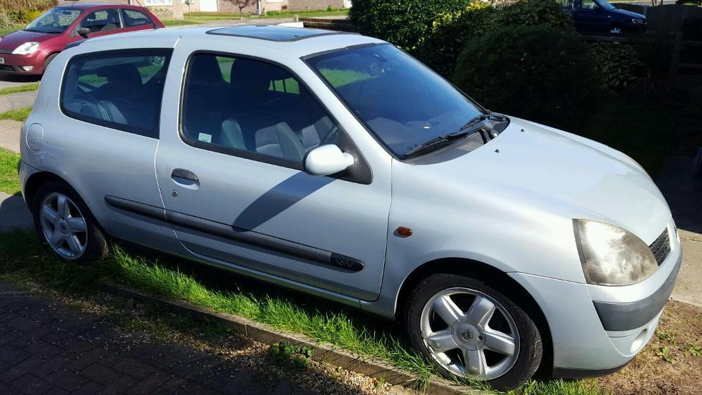2002 Renault Clio Dynamique 1.2 Petrol Spears or Repairs