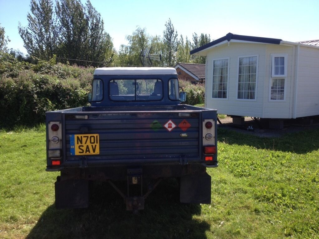 Landrover 110 defender tdi high capity good condition