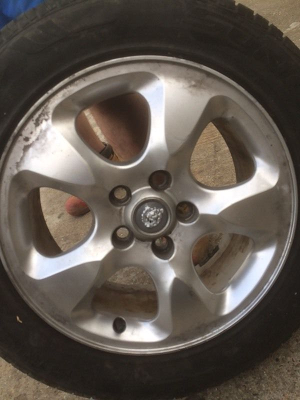 Jaguar alloys wheels 17""