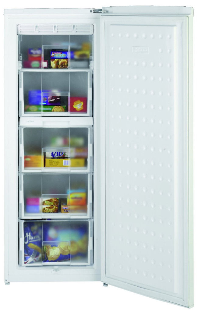 Beko TZDA504FW 55cm tall freezer, 7.0 cu ft capacity, frost free, white