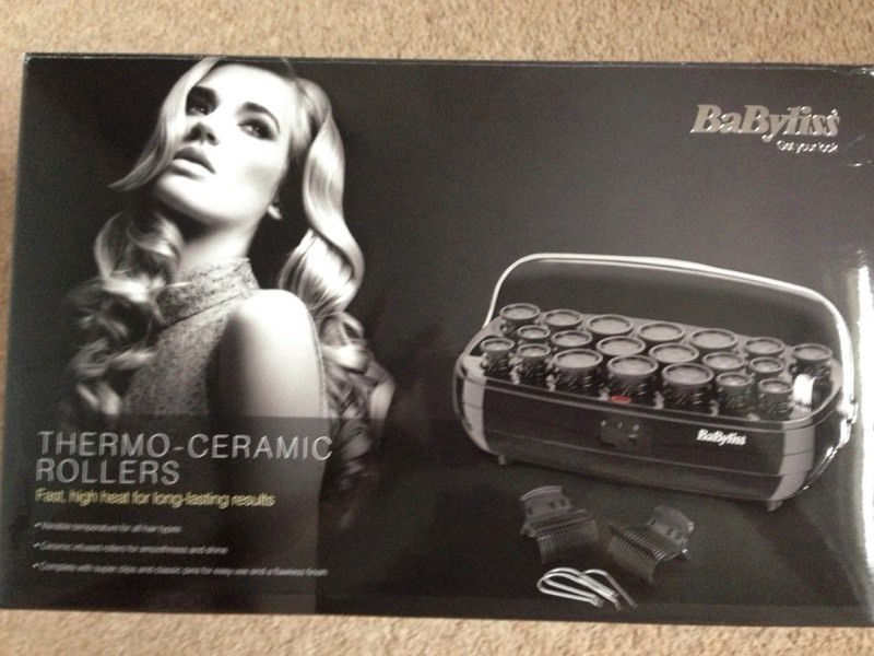 BaByliss Thermo-Ceramic Heated Rollers