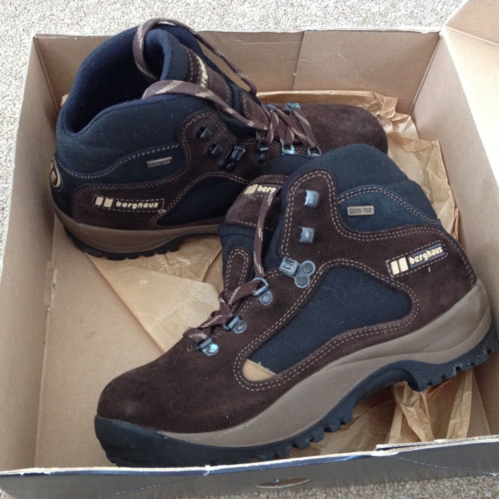 Berghaus walking boots size 41. Like new.