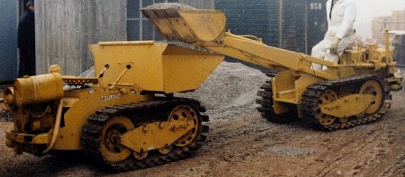 Wanted: Whitlock Ransomes crawler RD WR4 dumper and WR8 loader